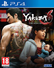 Yakuza 6 The Song Of Life PS4 Playstation 4 SEGA