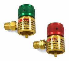 Smith Little Torch Preset Regulators For Use With Disposable Tanks, Set of 2