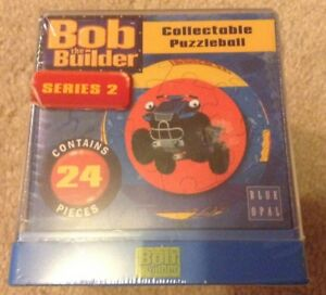 New Bob The Builder Collectible Puzzle Ball 24.pcs  3+