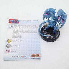 Heroclix Yu-Gi-Oh! Series 2 set Blue-Eyes Ultimate Dragon #019 Chase fig w/card!