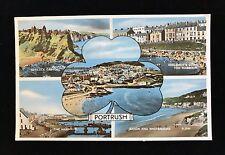 Postcard Portrush Multi-View Posted 1962 - PCBOX1
