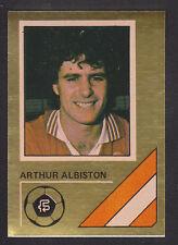 FKS - Soccer Stars 78/79 Golden Collection - # 184 Albiston - Manchester United