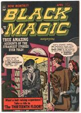 Black Magic Vol 2 5 Prize 1952 VG Jack Kirby Joe Simon Thirteenth Floor Elevator
