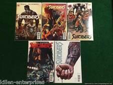 Suiciders #1-5 Comic Book Set Vertigo DC 2015