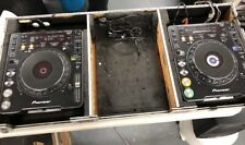 2- Pioneer CDJ1000 MK3 Professional CD/MP3 Turntable with FLIGHT CASE Used