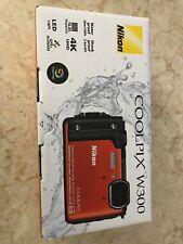 New!!! Nikon W300 Waterproof Underwater Digital Camera with TFT LCD, 3