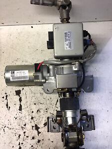 VAUXHALL CORSA C ELECTRIC STEERING COLUMN AND ECU 24463941 24463937 2000-2006