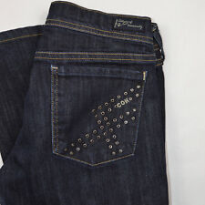 CITIZENS OF HUMANITY Grommet Electric Guitar Stretch Boot Cut Jeans, Sz 29 x 30