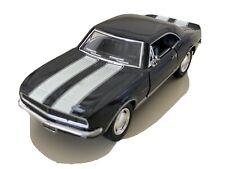1967 Chevrolet Camaro Z28 Diecast Model Toy Car 1:37 Scale Black White Stripes