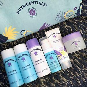 NuSkin Nu Skin Nutricentials Trial Set Cleanser Toner Gel Cream Celltrex Scrub