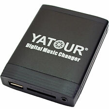 USB MP3 Adapter BMW E46 E39 E38 E53 Z4 für Wechsleranschlüsse Yatour YT-M06