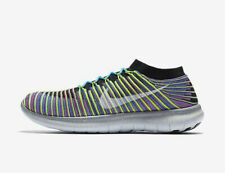 Nike Free Rn Motion Flyknit Mens Trainers Size UK 9 (EUR 44) New RRP £115.00