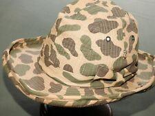 Us Army Vietnam Special Forces Advisor Japanese Made Spot Camo Cowboy Bush Hat