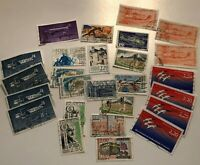 Job Lot of - Used - Off Paper - French - Postage Stamps - France - Francaise