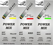 POWER MIX, Skiwax Trainingswax, Wax, Schiwachs, 750g