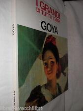 GOYA Mario Lepore Periodici Mondadori 1966 i grandi di tutti i tempi libro di