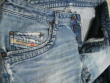 *HOT 100%AUTHENTIC Men DIESEL @ RUMBUM Art 796 RELAXED LOOSE BAGGY Jeans 34 x 29