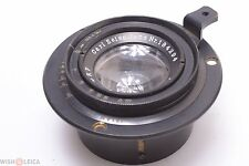 *NICE*  ZEISS 16.5CM, 165MM 6.3 TESSAR LARGE FORMAT LENS WITH HELICAL.