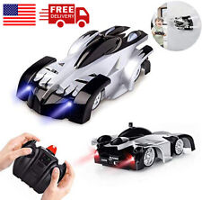 New listing Wall Climbing Car Indoor toys Rechargeable Rotating Stunt Car for kids 4 5 6 7 +