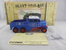 Corgi CC11102 Scammell Constructor Parker Bent  Scale 1:50