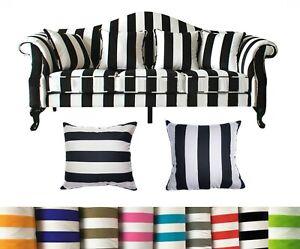 Tailor Made*COVER*Strip Cotton Canvas Pillow Cushion Cover Thow Floor sofa *Ak3