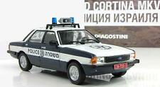 DeA 1:43 Ford Cortina MKV Israel police 1982 serie Police cars of the world