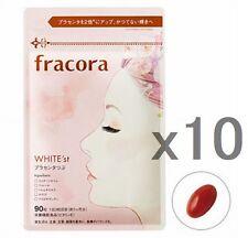 LOT10! Fracora Placenta 10,000mg, 90tablets x 10packs, WHITE'st