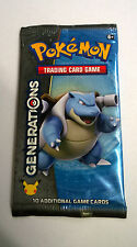 Pokemon Generations Blastoise Booster Pack new sealed