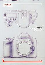Prospekt 2009 D Canon EOS 7D Broschüre Kamera brochure camera Japan Photografica