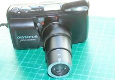OLYMPUS MJU ZOOM 105 COMPACT 35mm FILM CAMERA + CASE / NECK STRAP 38-105mm LENS
