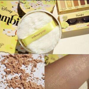 Colourpop X Disney Bambi Morning Light Pixie Puff Highlighter Glow Powder (NIB)