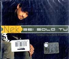NEK Sei Solo Tu CD Single NEW SEALED