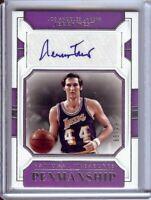 Jerry West 2018-19 National Treasures Penmanship Autograph Lakers #JWS 64/99