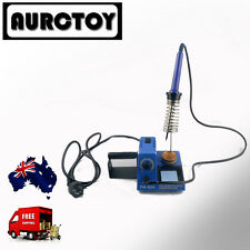 SOLDERING IRON STATION 60W Variable temperature CE  1YEAR WRT for RC car toy AU