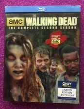 Walking Dead: Season 2, The (Blu-ray, 2012; 4-Discs) NEW w/ Lenticular Slipcover
