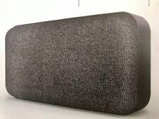 Sharper Image Wireless Bluetooth Fabric Mini Speaker With Powerful Sound