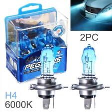 2x 6000K White Light H4 100W Car HOD Xenon Halogen Lamp Auto Front Headlight 12V