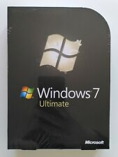 MS Windows 7 Ultimate  32 64 Bit DVD Retail Vollversion Deutsch GLC-00205