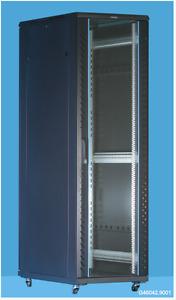 Data rack 32u 600 x 600 network rack cctv ,fan,glass door, steel rear door,