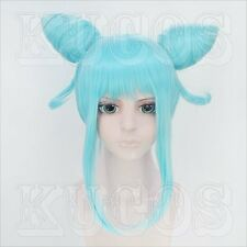 Halloween Wig Hair Cosplay Costume DAOKO girl blue styled Halloween
