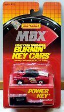 Matchbox BURNIN KEY CAR Ferrari #17 Red with POWER KEY LAUNCHER 1/64 Scale Rare