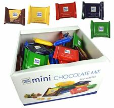 RITTER SPORT MINI 1.4kg - 84 Assorted Chocolate Mini Bars in 7 MIXED Flavours