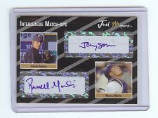 JEREMY SOWERS - RUSSELL MARTIN 2005 Dual Autograph RC 1/2