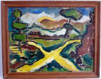 Expressionistische Landschaft Mitte 20. Jh.