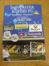 18/03/2000 Doncaster Rovers V YEOVIL TOWN (senza apparente/difetti GRAVI)