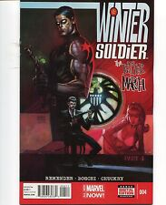 Winter Soldier #4 - Andrew Robinson Cover - Rick Remender Scripts - 2014