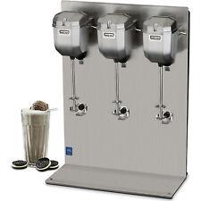 Waring Triple Head 2 Speed Drink Mixer - Commercial Malt Milkshake Mixing Equip.