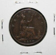 1894 GREAT BRITAIN QUEEN VICTORIA - FARTHING - UK COIN