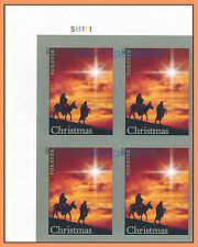 4813a Holy Family Imperf UL Plate Block of 4 No Die Cuts Christmas 2013