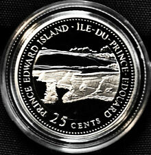 1992 Canada 25 cents Proof Silver Coin - Prince Edward Island